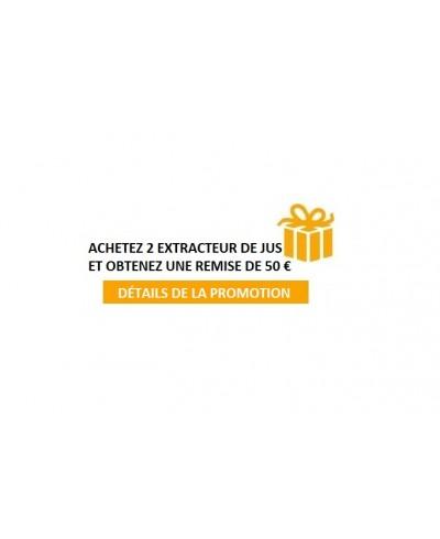 OFFRE PROMOTIONNELLE - ACHAT DE DEUX EXTRACTEUR DE JUS